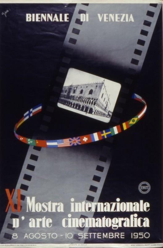 Mostra del Cinema di Venezia 1950, il manifesto