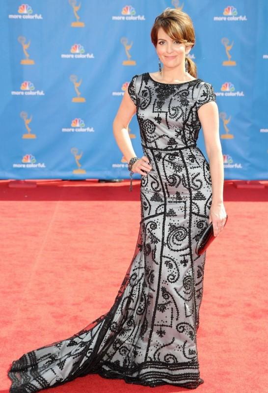 Tina Fey sul red carpet degli Emmy 2010