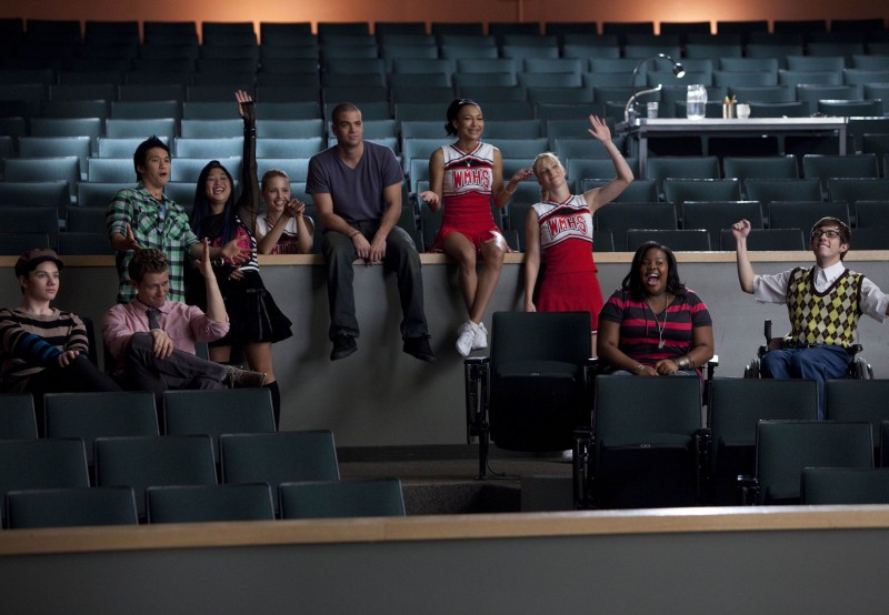 Una scena dell'episodio Audition, premiere della stagione 2 di Glee