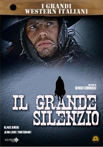 La copertina di Il grande silenzio (dvd)