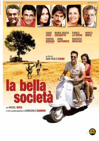 La copertina di La bella società (dvd)