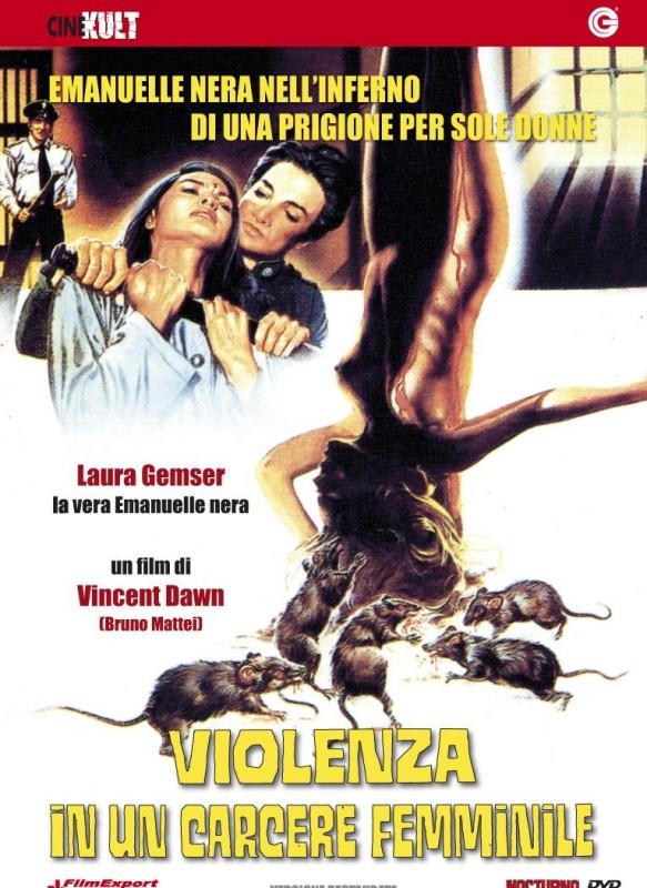 La copertina di Violenza in un carcere femminile (dvd)