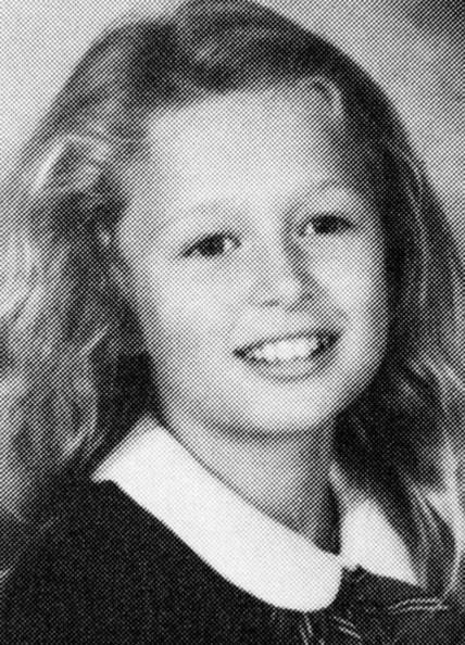 La piccola Paris Hilton ai tempi in cui frequentava le elementari
