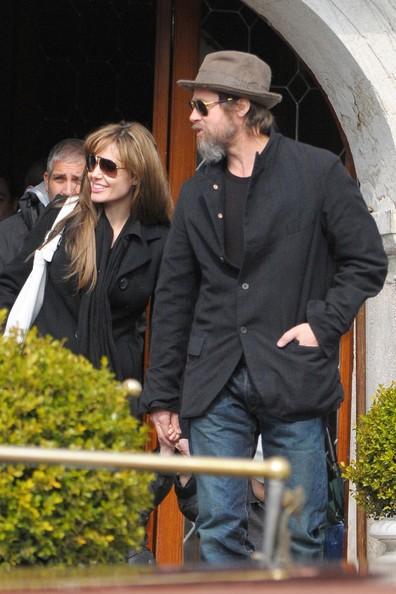 Brad e Angelina a Venezia