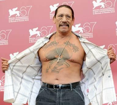 Venezia 2010: sfoggio di muscoli e tatuaggi per Danny Trejo, star di Machete