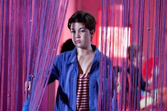 Carla Marchese in una scena del film I baci mai dati, di Roberta Torre
