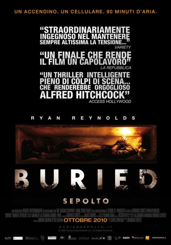 La locandina italiana di Buried