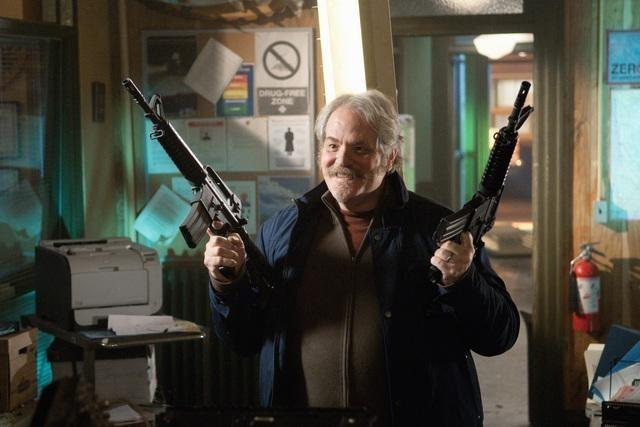M.C. Gainey nell'episodio Blame It on Rio Bravo di Happy Town