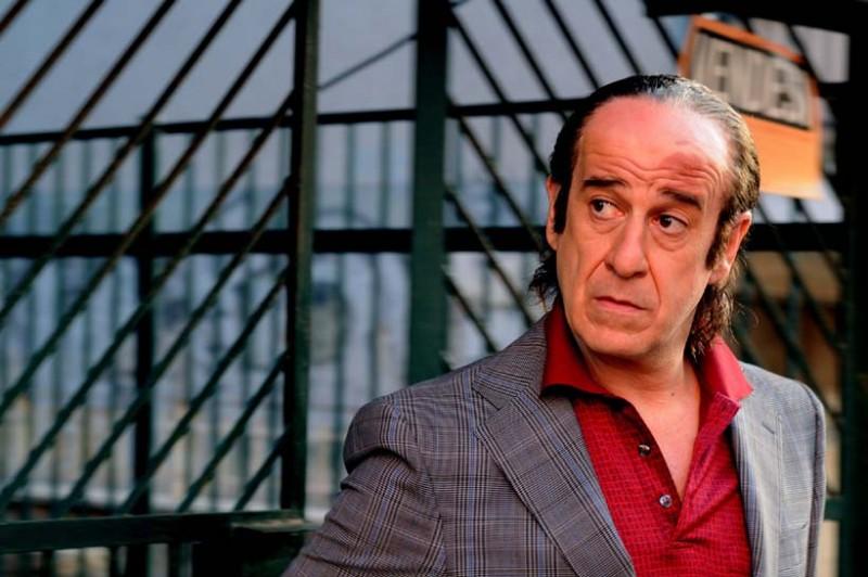Toni Servillo in una scena del film Gorbaciof