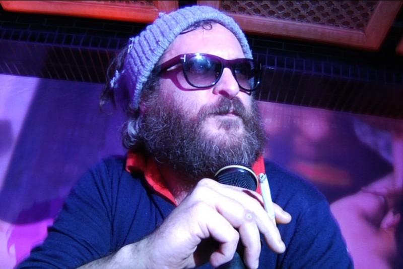 Joaquin Phoenix è il protagonista del film I'm Still Here