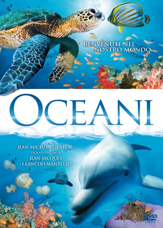 La copertina di Oceani (dvd)