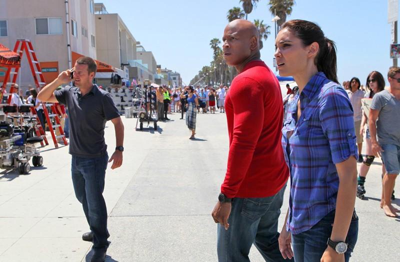 NCIS: Los Angeles: Chris O'Donnell, LL Cool J e Daniela Ruah nell'episodio Human Traffic