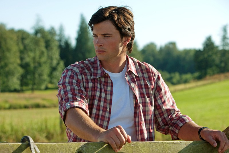 Tom Welling in una sequenza dell'episodio Lazarus di Smallville