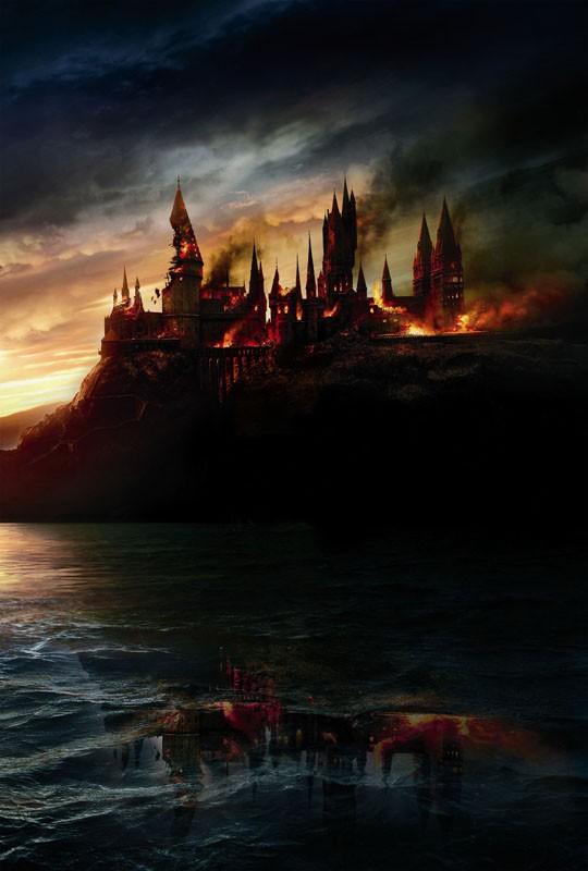 Un'immagine promo utilizzata per il poster del film I Doni della Morte - parte 1