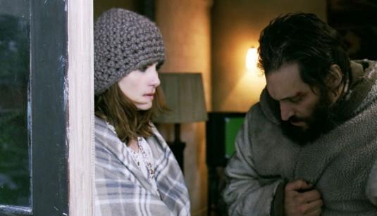 Vincent Gallo in una sequenza drammatica del film Essential Killing (2010)