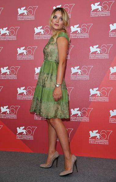 Carolina Crescentini presenta 20 sigarette a Venezia 2010