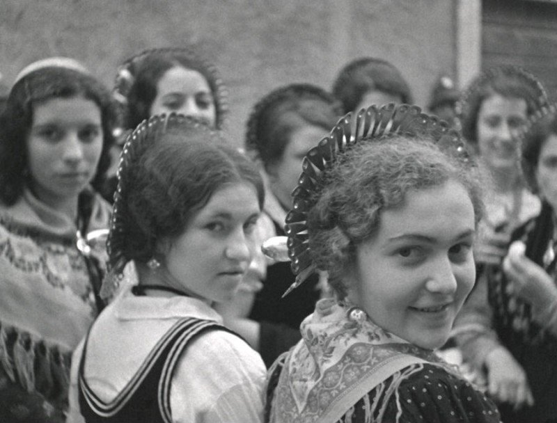Un'immagine tratta dal documentario Ma che storia