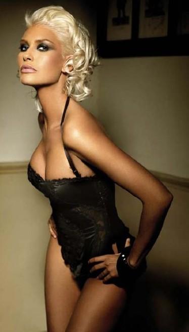 Una foto di Brigitta Bulgari in versione diva