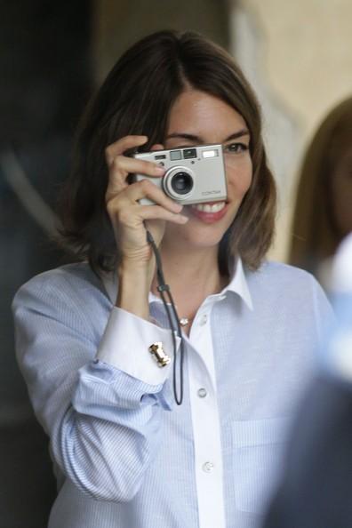 Venezia 2010: Sofia Coppola, autrice di Somewhere, scatta qualche foto