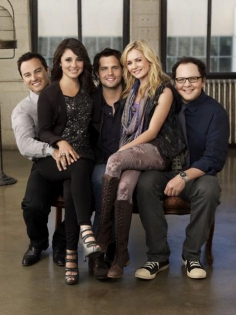 Il cast di Life UneXpected in una foto promozionale della stagione 2