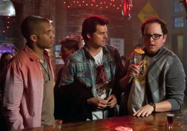 Reggie Austin, Kristoffer Polaha ed Austin Basis nell'episodio Ocean Uncharted di Life UneXpected