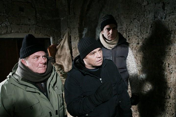 Claudio Amendola, Antonello Fassari e Max Tortora in un momento de I Cesaroni 4