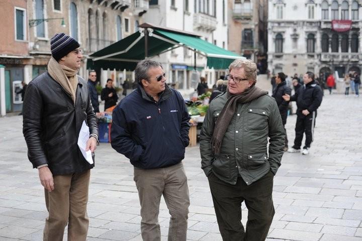 Claudio Amendola, Antonello Fassari e Max Tortora in una scena de I Cesaroni 4