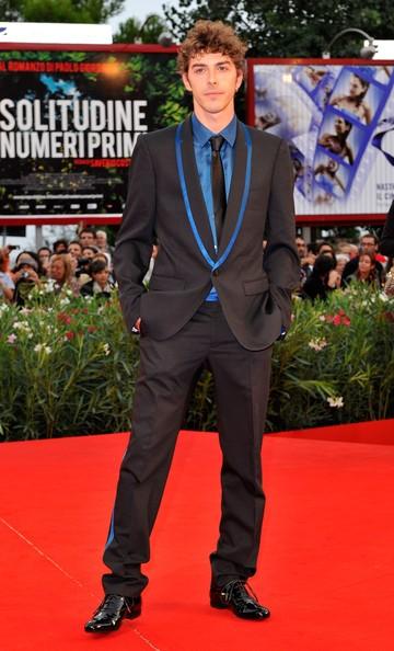 Venezia 2010: Michele Riondino sul red carpet per presentare Noi credevamo