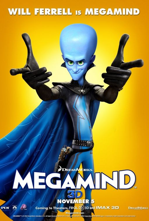 Character poster per Megamind - Megamind (Will Ferrell)
