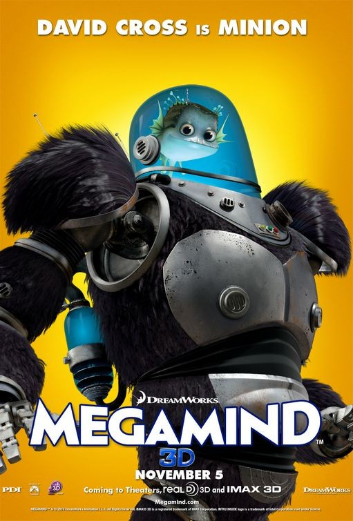 Character poster per Megamind - Minion (David Cross)