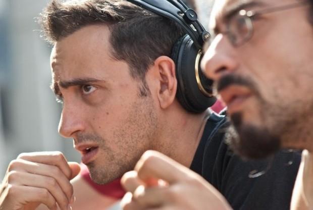 Daniele Coluccini e Matteo Botrugno sul set di Et in Terra pax