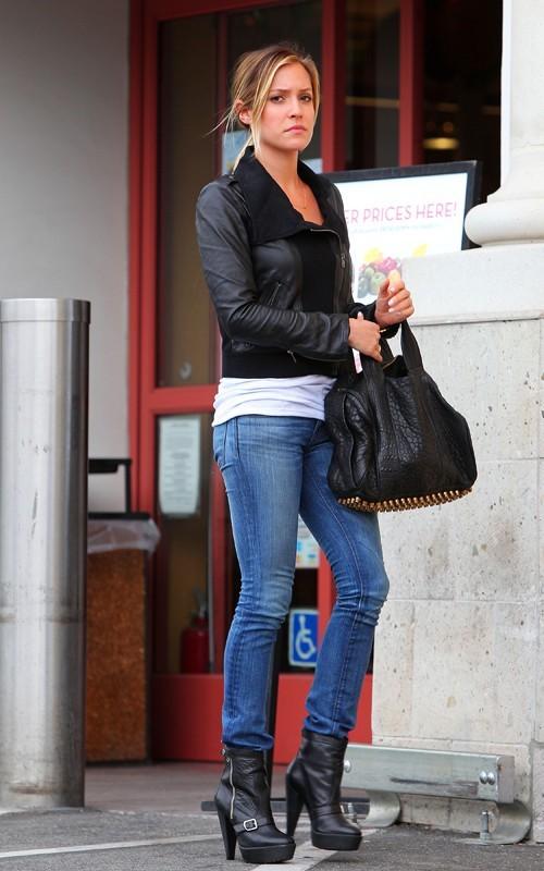 Kristin Cavallari all'uscita di un supermercato di West Hollywood