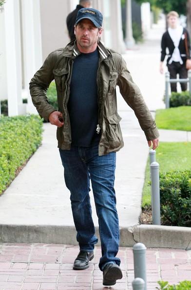 Patrick Dempsey durante lo shopping presso Quartina a West Hollywood