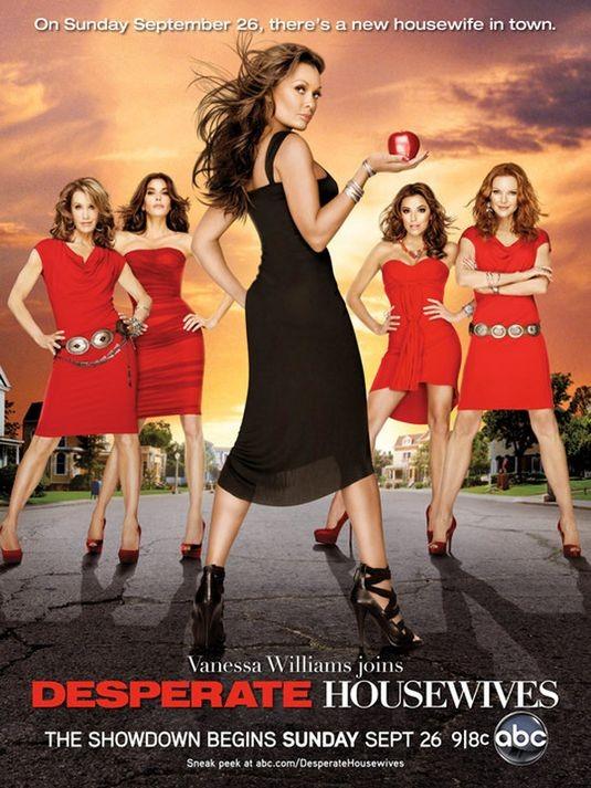 Un poster della stagione 7 di Desperate Housewives