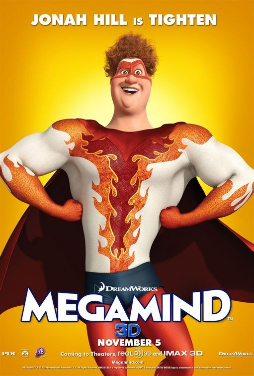 Character poster per Megamind - Tighten (Jonah Hill)