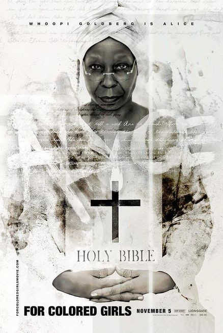 Character poster per Whoopi Goldberg (Alice) per il film For Colored Girls Who Have Considered Suicide When the Rainbow Is Enuf