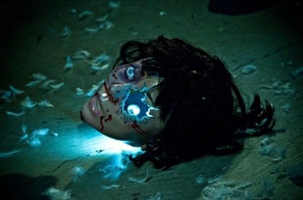 Una scena del film The Shock Labyrinth 3D (2010)