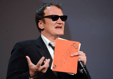 Venezia 2010: Quentin Tarantino durante la cerimonia di premiazione
