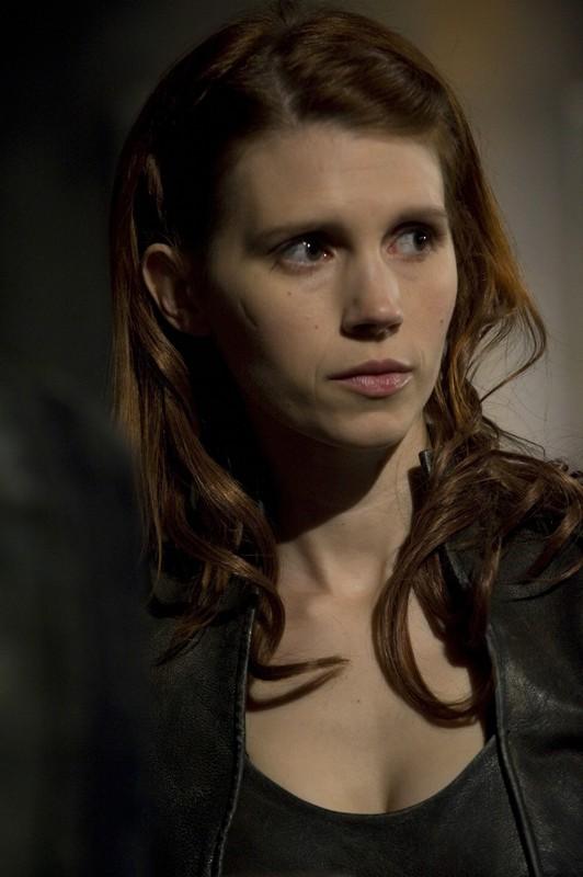 Julie McNiven in un momento dell'episodio Aftermath di Stargate Universe