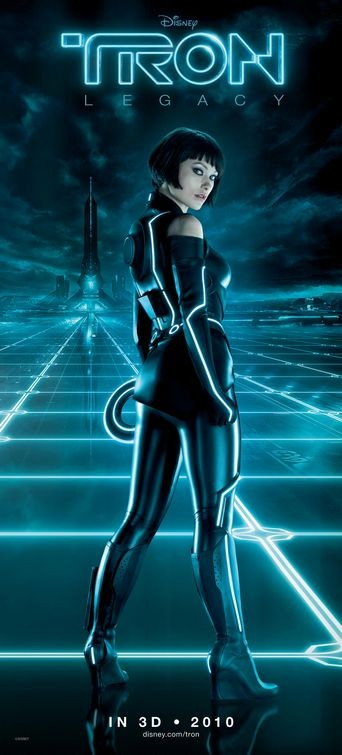 Character poster per Tron Legacy - Olivia Wilde
