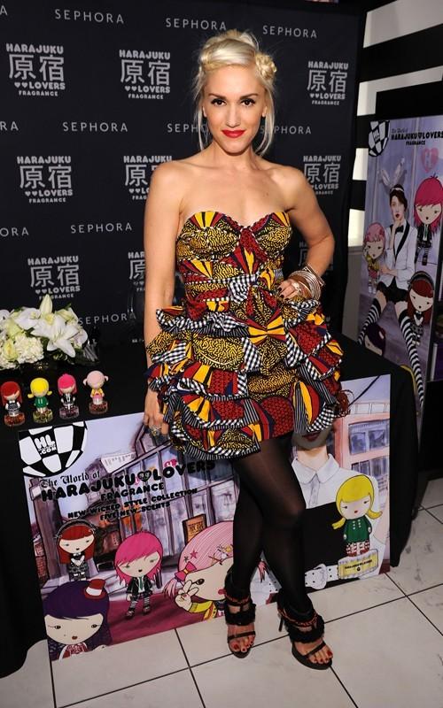 Gwen Stefani festeggia il 'Soho Sephora' al 'Fashion's Night Out' di New York