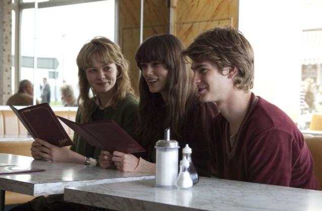 Keira Knightley, Andrew Garfield e Carey Mulligan, protagonisti di Never Let Me Go