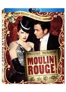La copertina di Moulin Rouge (blu-ray)