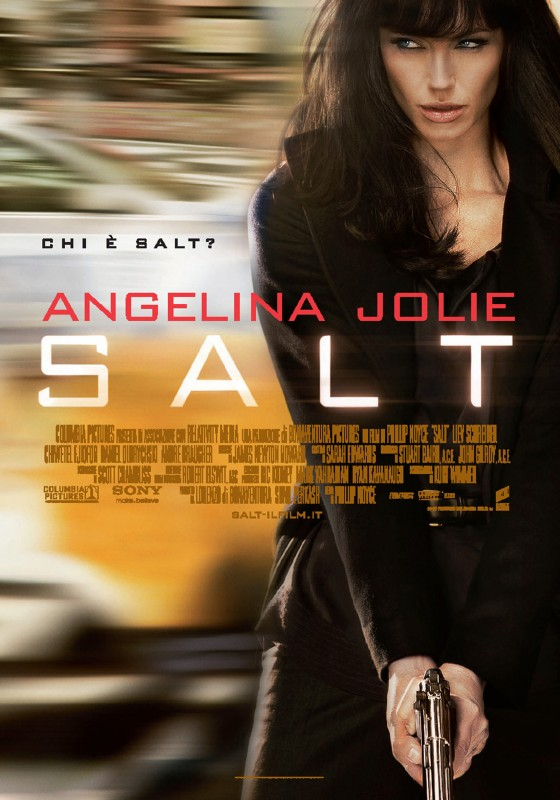 La locandina italiana di Salt