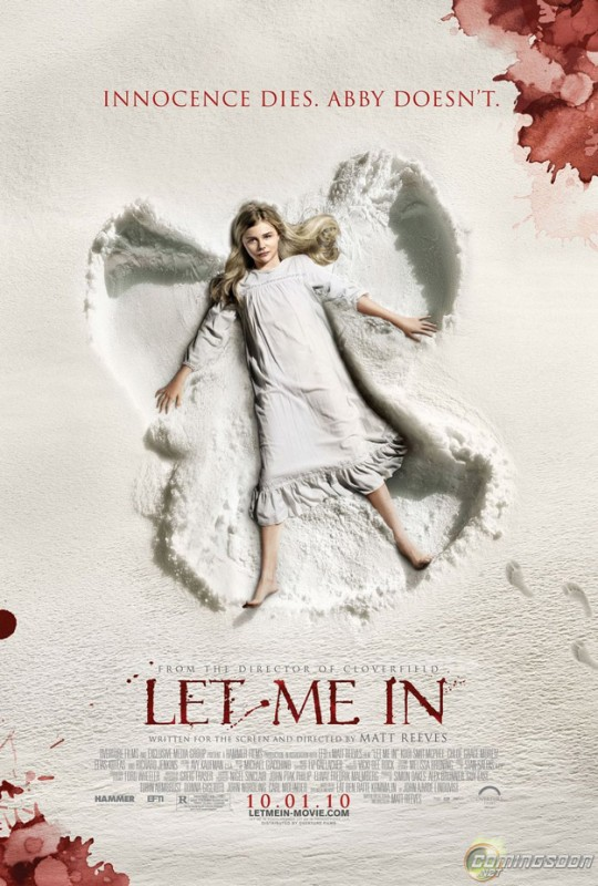 Nuovo gelido poster di Let Me In