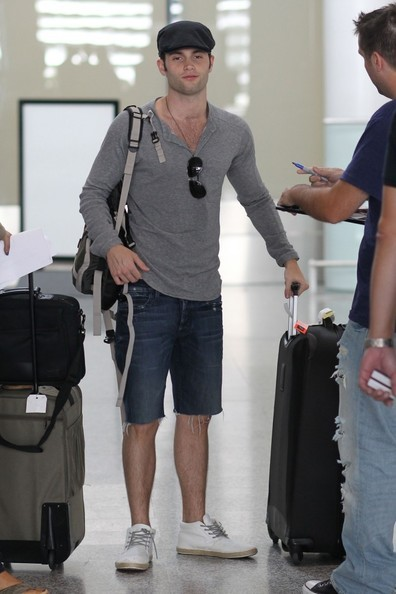 Penn Badgley al Pearson International Airport di Toronto per l'International Film Festival 2010