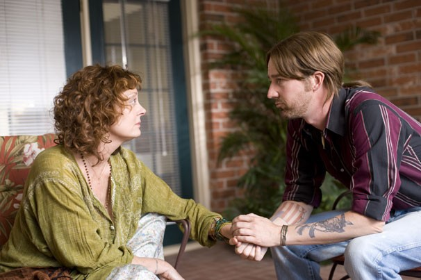 Susan Sarandon ed Edward Norton in una scena del film Leaves of Grass