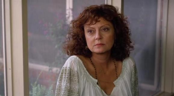 Susan Sarandon in una scena del film Leaves of Grass