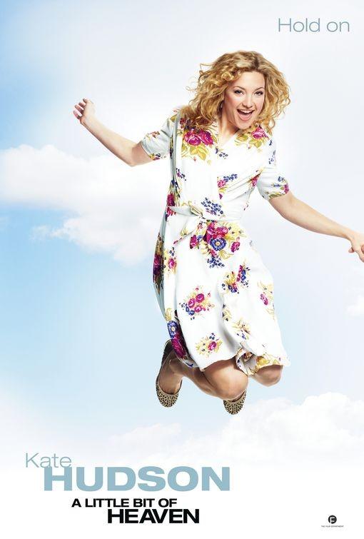 Teaser poster 1 (Kate Hudson) per la romcom A Little Bit of Heaven