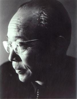 un ritratto di Kenji Mizoguchi